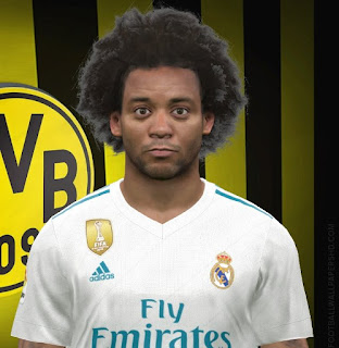 PES 2017 Faces Marcelo by FaceEditor Jefferson_SF
