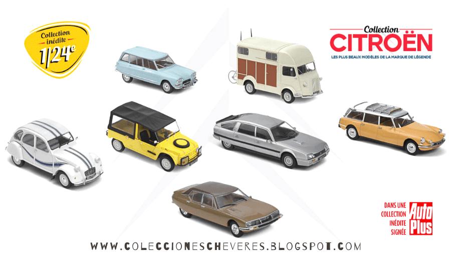 Collection Citroën 1/24 Hachette Collections
