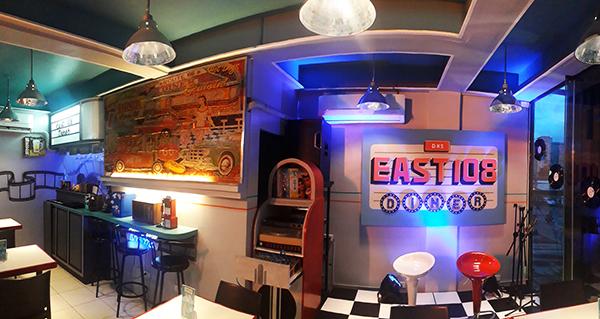 east 108 diner interior