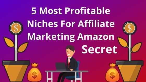 5 Most Profitable Niches For Amazon Affiliate Marketing | Secret