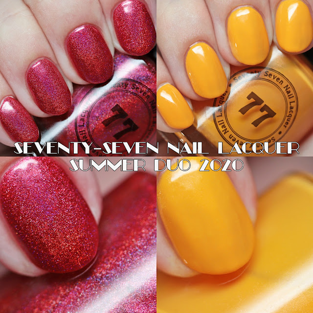 Seventy-Seven Nail Lacquer Summer Duo 2020