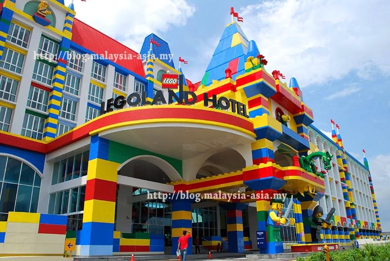 Entrance Legoland Hotel Malaysia