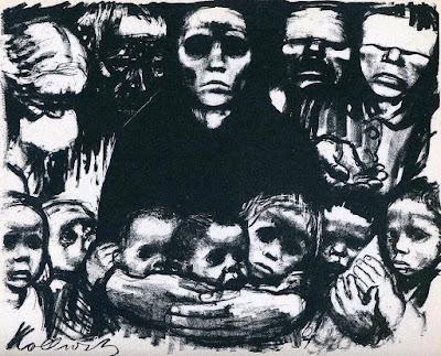 The Survivors (1923)-Kathe Kollwitz
