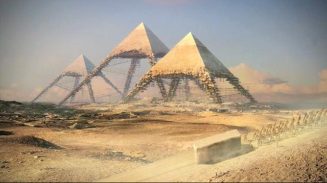 Resultado de imagem para Cientistas confirmam existência de espaço escondido na Grande Pirâmide do Egito