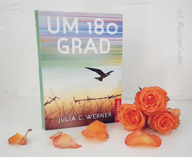 Jugendbuch Um 180 Grad mit Rosen
