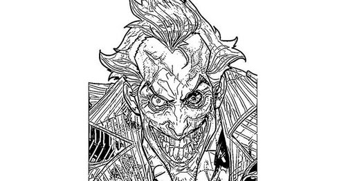 Free Printable Batman And Joker Coloring Pages Gt Gt Disney