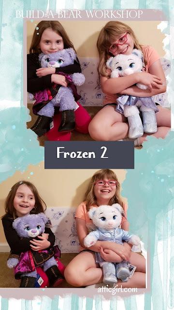 Frozen 2 plush at Build-a-Bear Workshop