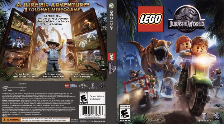 Cheat Lego Jurassic World Ps3 Ps4 Xbox One Xbox 360 Wii U Ps