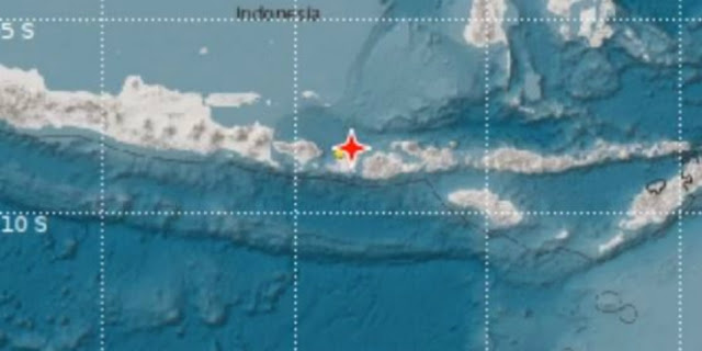 Peringatan Tsunami Lombok Resmi Dicabut