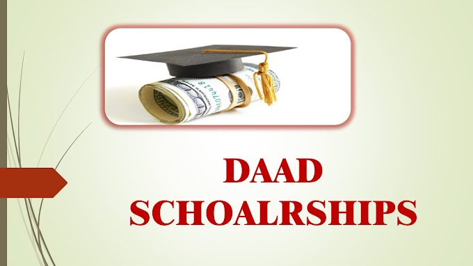 DAAD SCHOLARSHIP FOR INDIAN STUDENTS