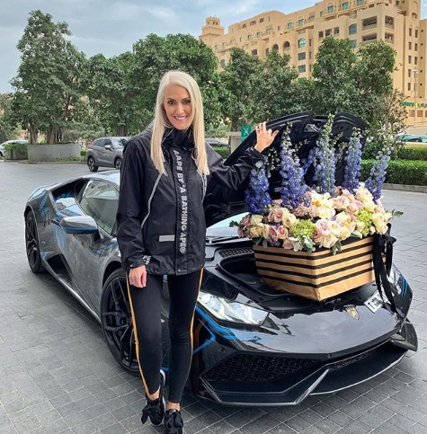 Alexandra Mary Hirschi, supercar blondie