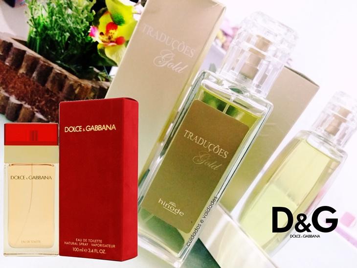 Perfume Dolce Gabbana Red Traduções