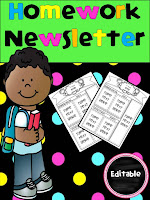 https://www.teacherspayteachers.com/Product/Editable-Homework-Newsletter-2975797