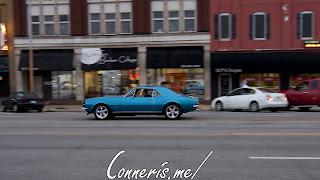 Draggin Douglas Classic Blue Chevrolet Camaro