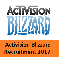 Activision Blizzard Recruitment
