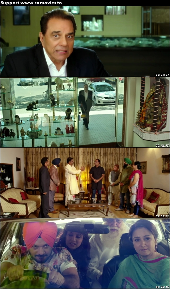 Double Di Trouble 2014 Punjabi 720p HDRip 800mb
