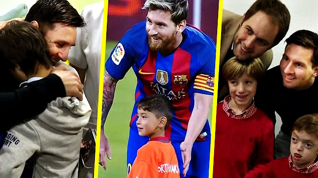 Lionel Messi - More than a Football player - Respect moment 2018 HD