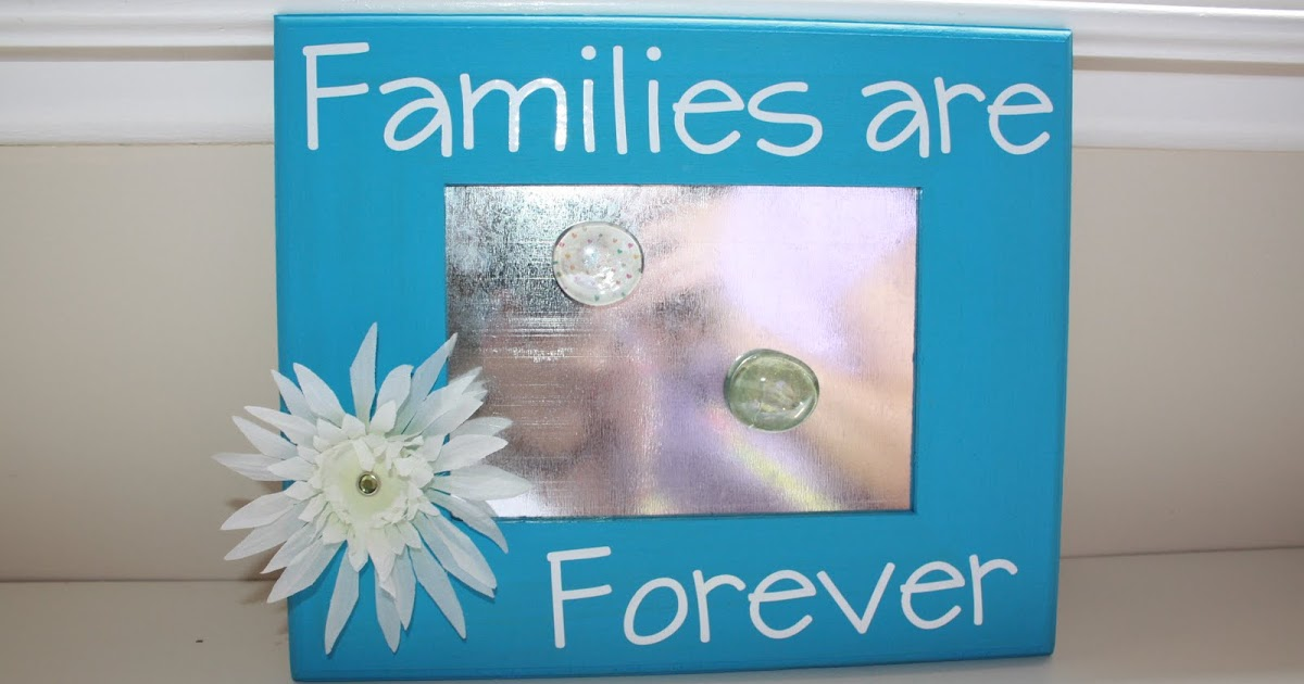Living The Super Life Families Are Forever Magnet Board