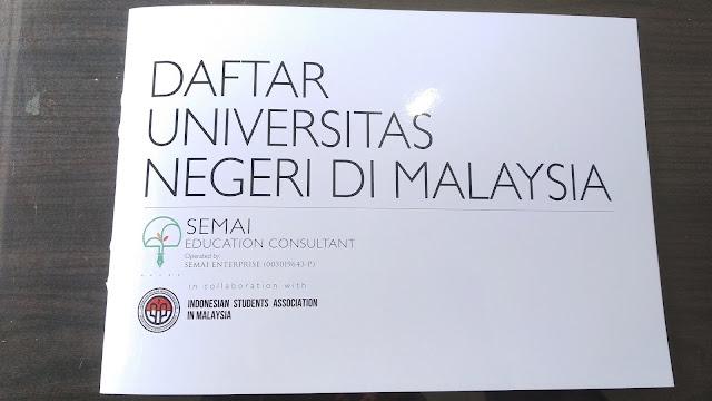 Buku Cara Daftar Universitas di Malaysia