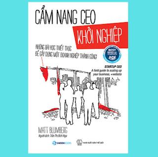 Cẩm nang CEO khởi nghiệp (Startup CEO) - Tác giả Matt Blumberg ebook PDF-EPUB-AWZ3-PRC-MOBI
