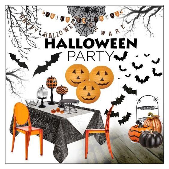 Halloween Interior Mood Board