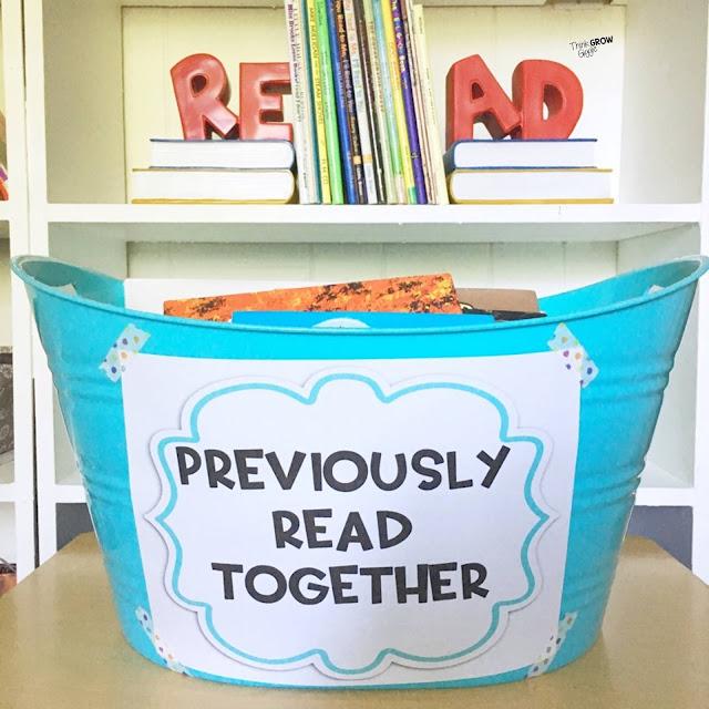 upper elementary classroom library ideas