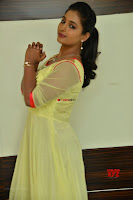 Teja Reddy in Anarkali Dress at Javed Habib Salon launch ~  Exclusive Galleries 005.jpg