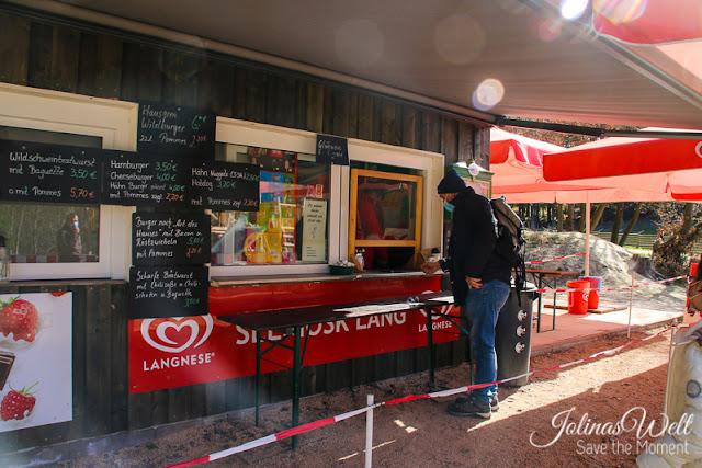 Kiosk im Tierpark Rheinböllen
