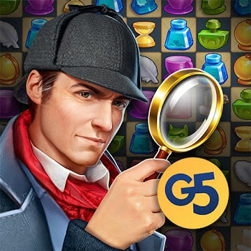 Sherlock: Mystery Hidden Objects & Match-3 (MOD, Unlimited Money)