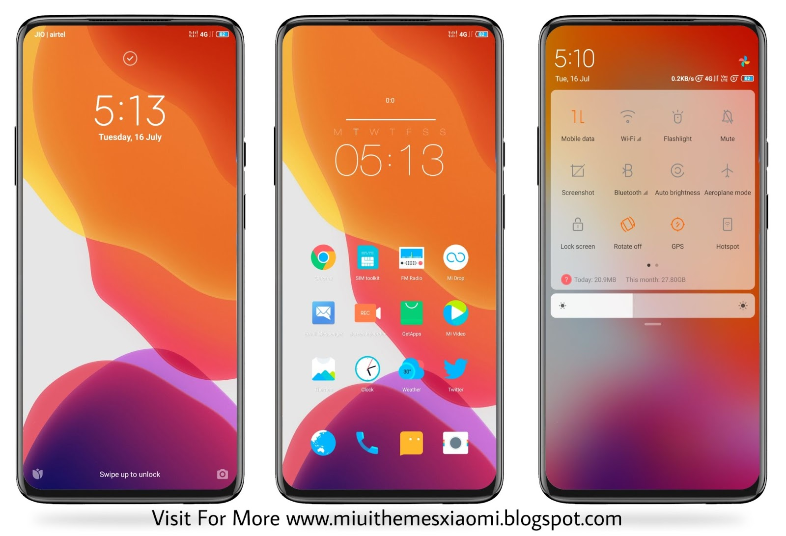 iOS 13 Simply MIUI Theme Download For Xiaomi Mobile || MIUI Themes