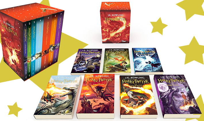 Box exclusivo Amazon Harry Potter 20 Anos