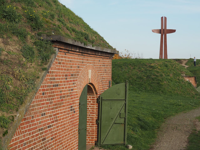 Hill fort and Millennium Cross on Gora Gradowa, Gdansk