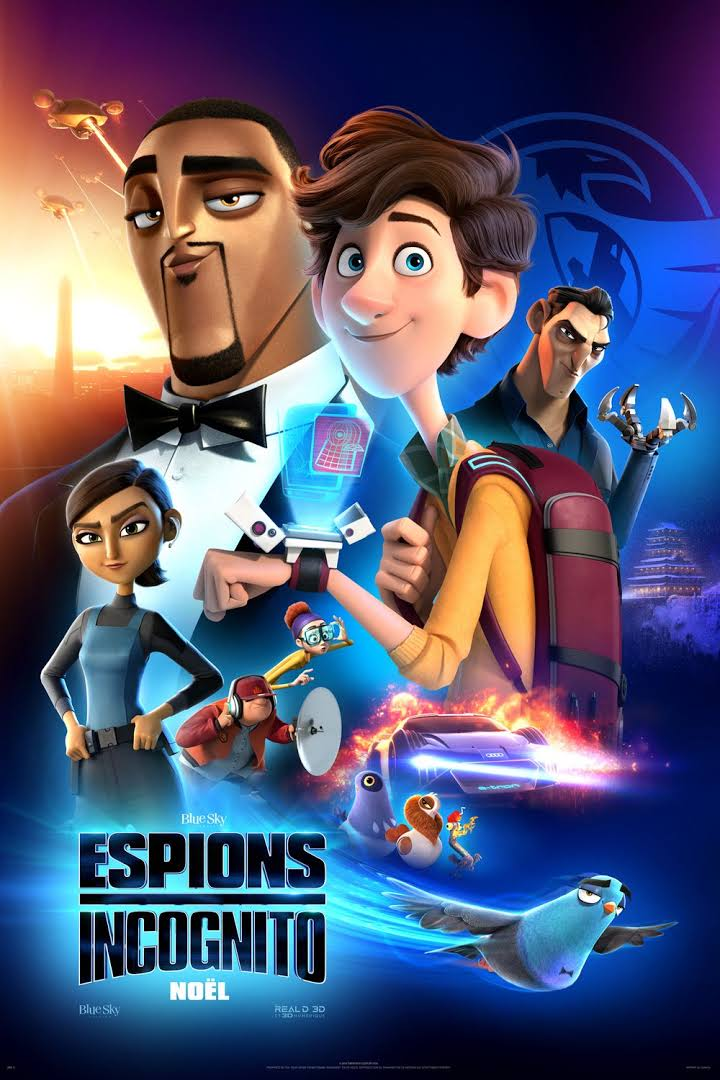 Spies in Disguise 2019 480p 350MB