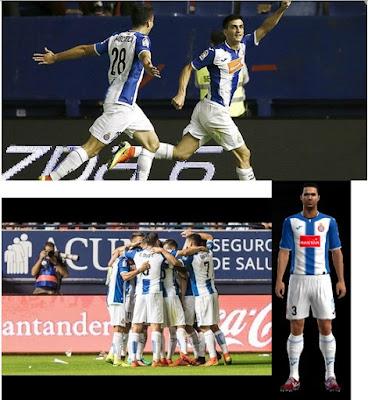 PES 2013 RCD Espanyol 2016-17 Full GDB V.4 BY ANTONELLI