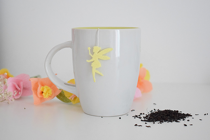 diy sachet thé customisé fée clochette