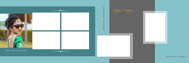 Magic PSD Templates For Wedding Album Free Download 12x36