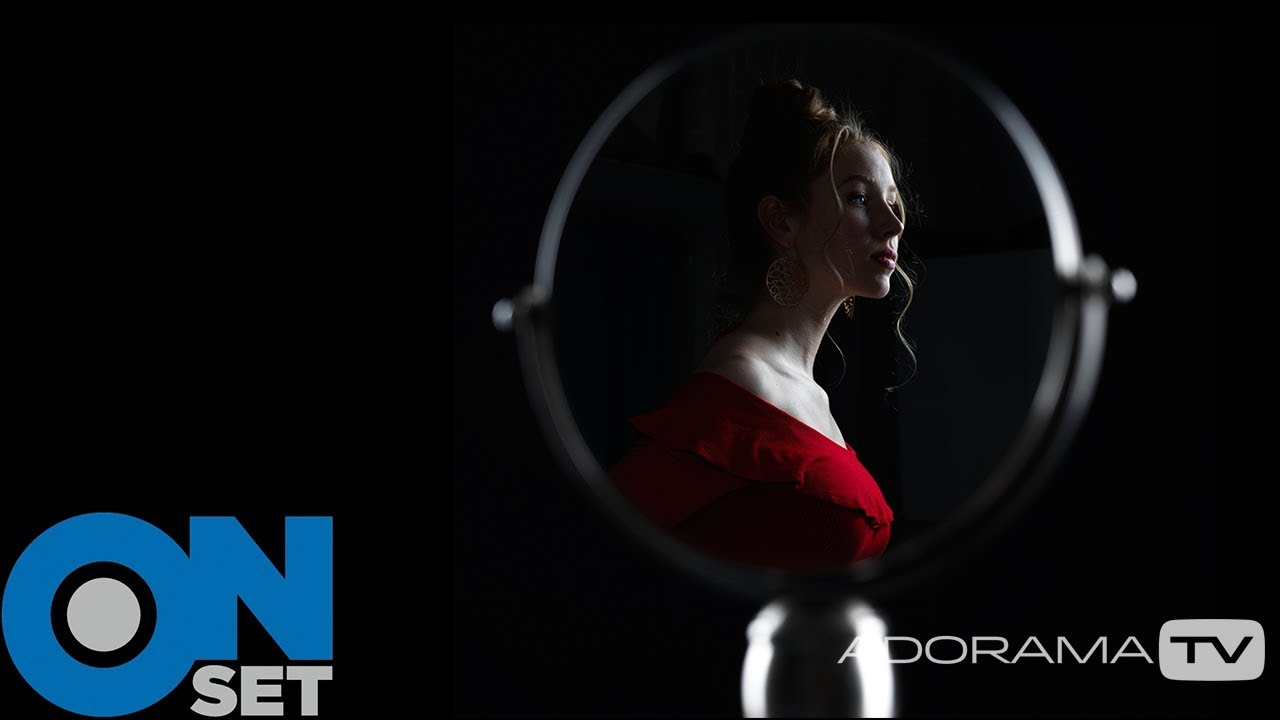 Using a Mirror for Creative Portraits
