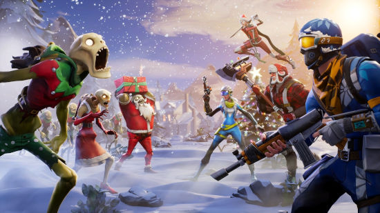 Fortnite Battle Royale - Joyeux Noël Zombie - Full HD 1080p