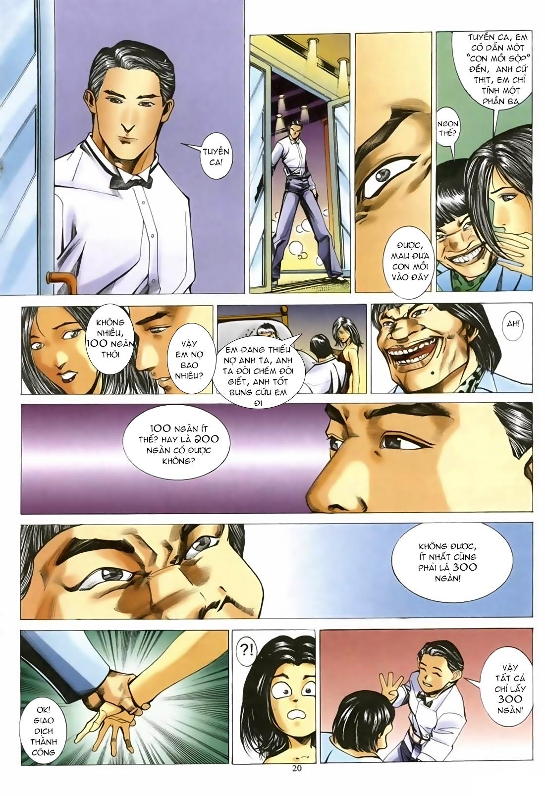 Đổ Hiệp Truyền Kỳ chap 1 - Trang 19