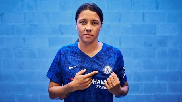 O Chelsea demonstra força ao assinar com Sam Kerr