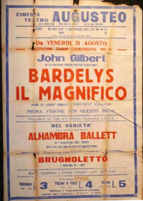 Bardelys The Magnificent movieloversreviews.filminspector.com 1926  film poster