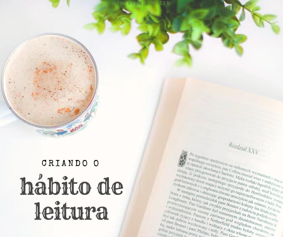 Como escolher livros e criar hábito de leitura