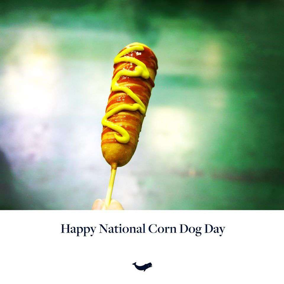 National Corn Dog Day Wishes For Facebook