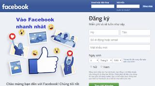 """Cách vào Facebook bị chặn khi """"Không vào được Facebook"""" trên Cốc Cốc, Chrome, FireFox"""