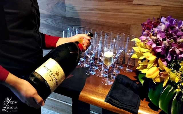 Moet and Chandon at Nobu Hotel Brunch Buffet City of Dreams Manila