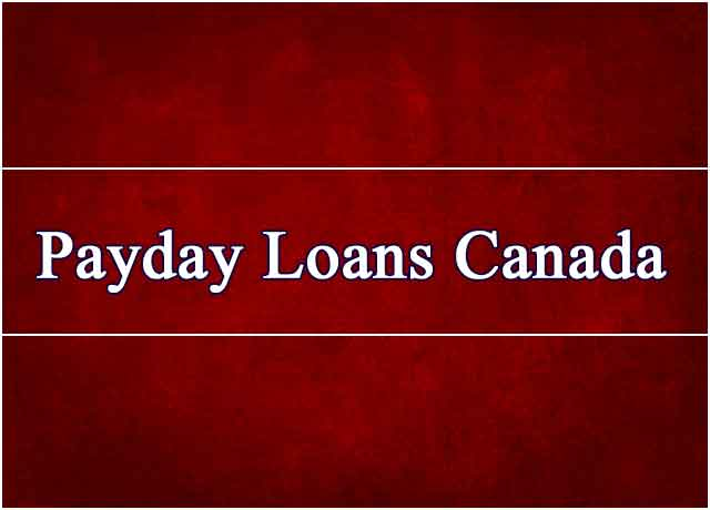Payday Loans Canada Online Simple Fast And Convenient Money