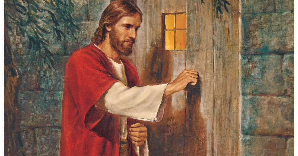 Image result for jesus knocking on door