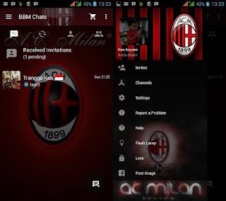 BBM Tema AC Milan