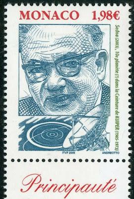 Monaco Stamp 2005 Gerard Pieter Kuiper