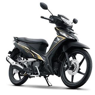 Sepeda Motor Honda Supra 3